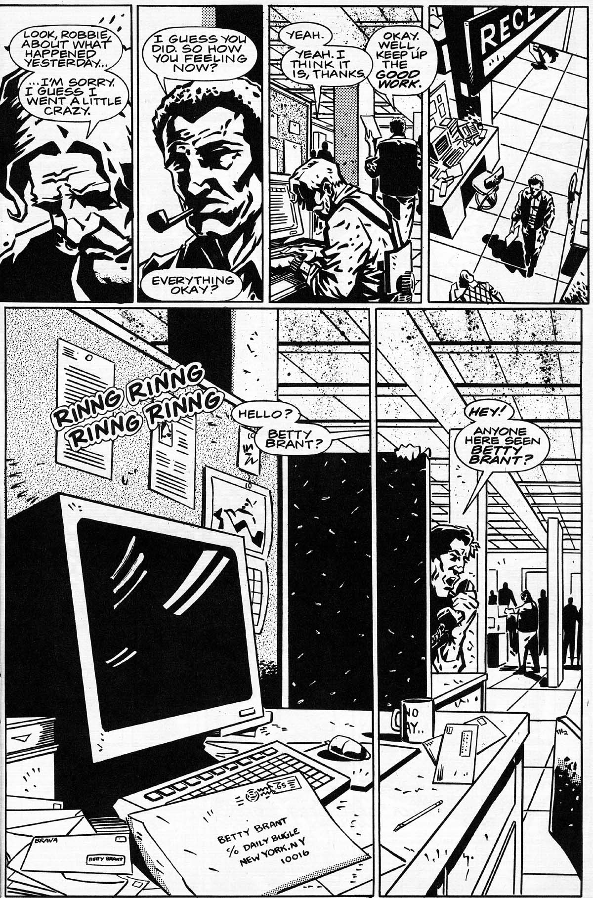 Read online Daily Bugle (1996) comic -  Issue #3 - 5