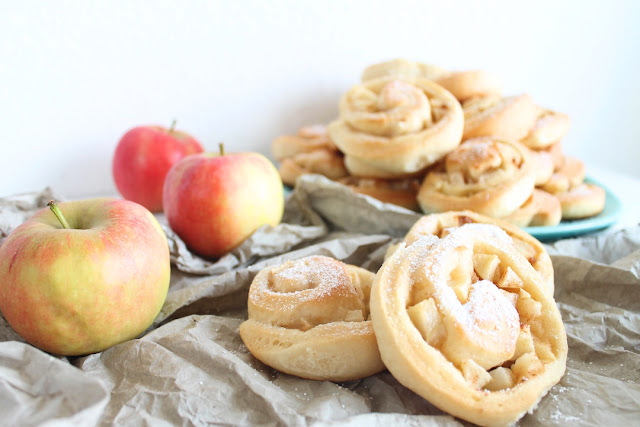 Apfel-Hefeschnecken von Sommermadame