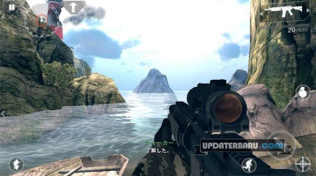 download Modern Combat 4: Zero Hour v1.2.2e Mod bisa Offline