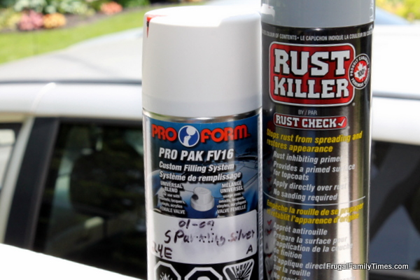 Diy Rust Removal Make Your Beater Better Frugal Family