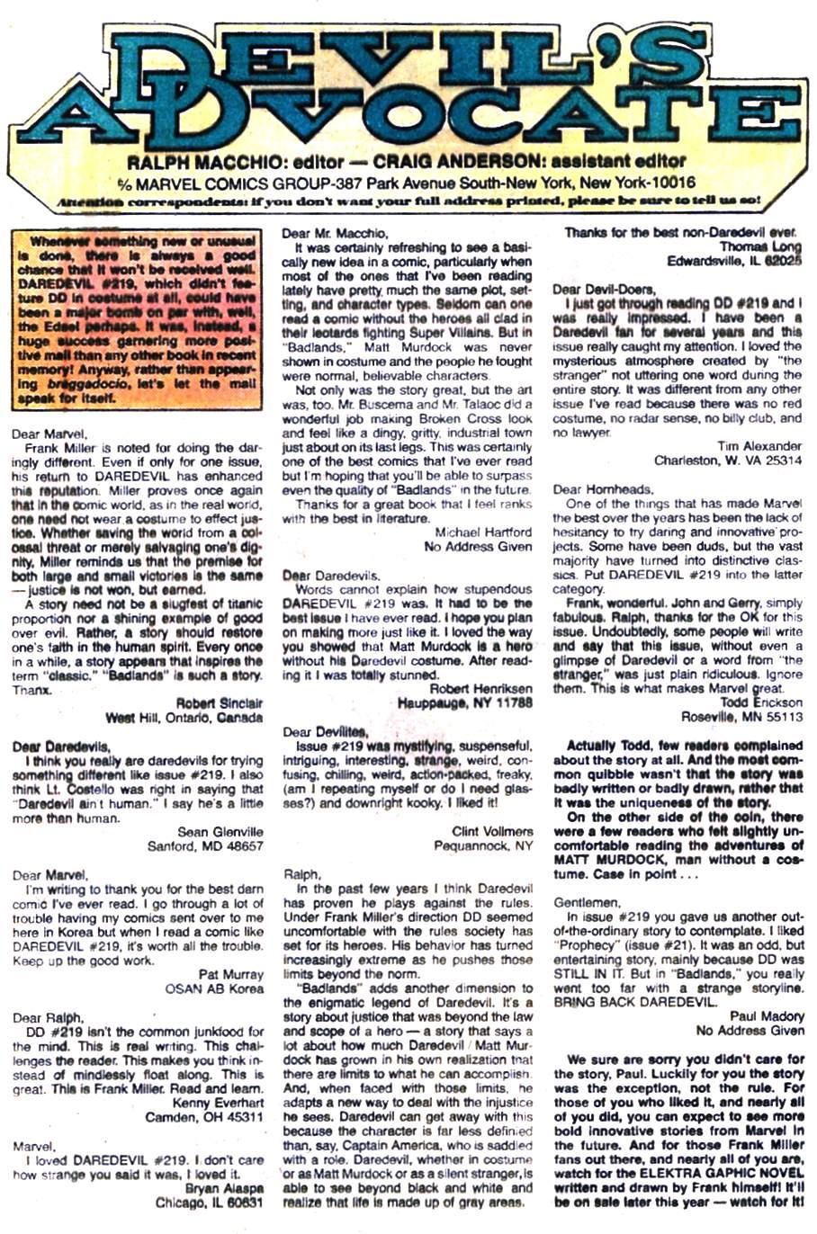 Daredevil (1964) 224 Page 22