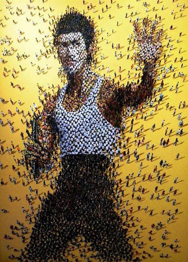 Syaiful Rachman (Indonesia) - Bruce Lee art collection @ YellowMenace