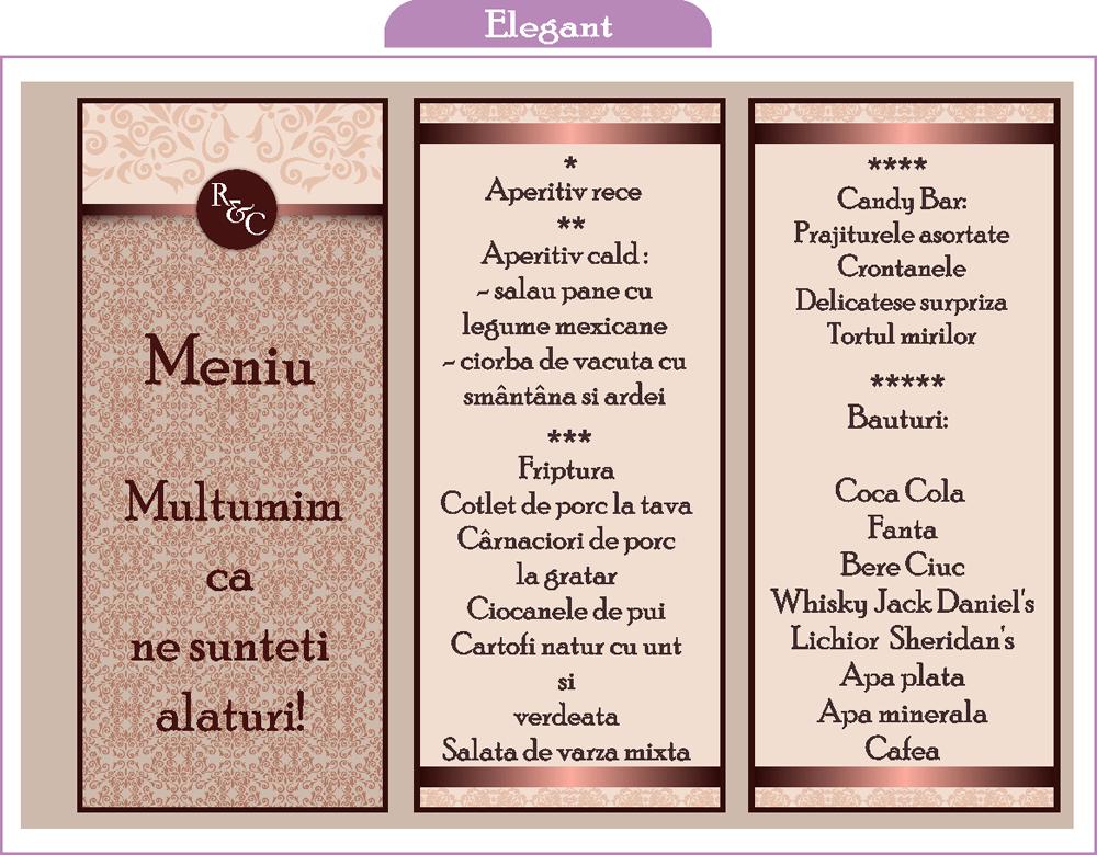 Bebestudio11com Invitatii Nunta Si Botez Meniuri Nunta