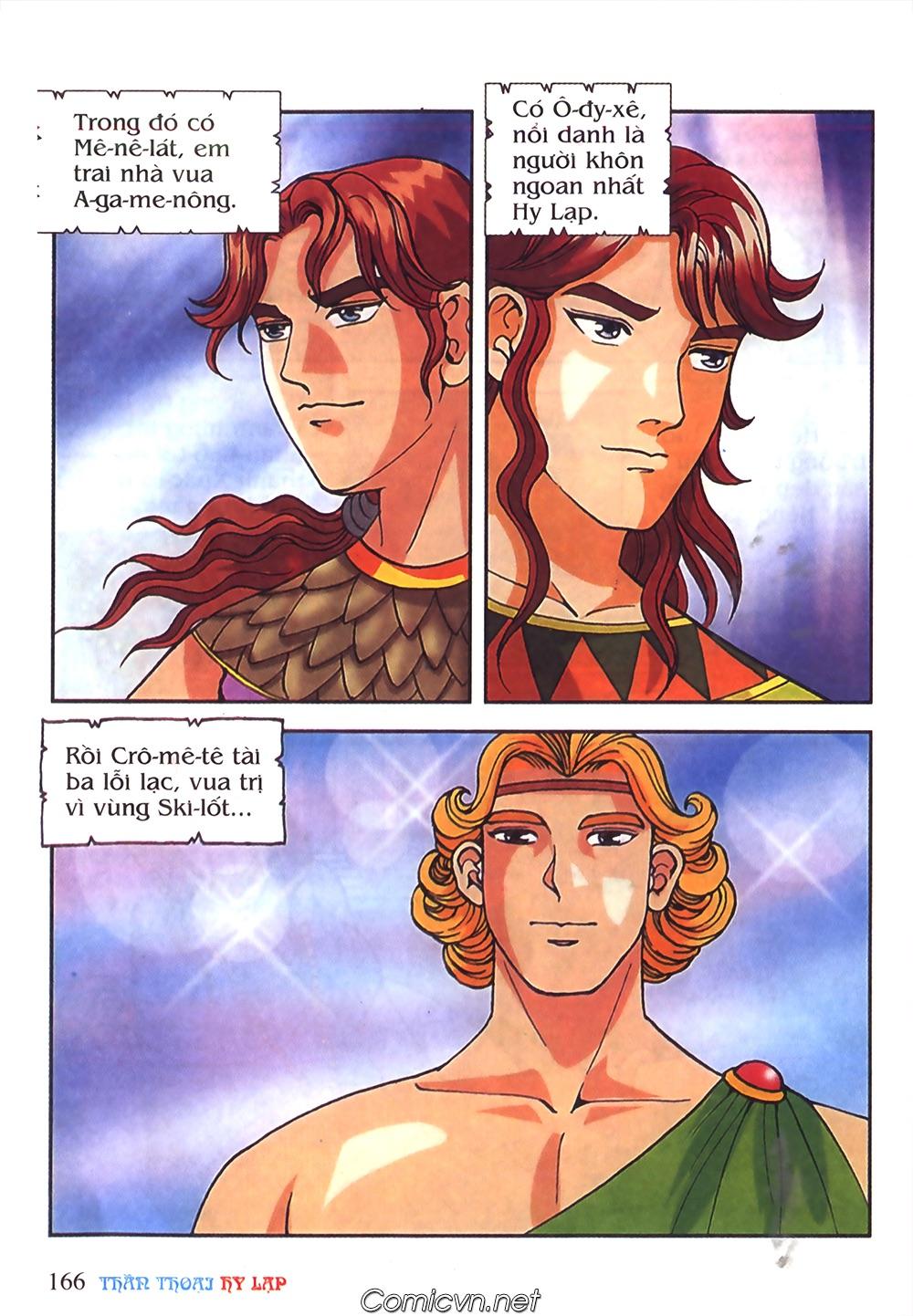 Thần Thoại Hy Lạp Màu - Chapter 51: Nàng công chúa Helen - Pic 5