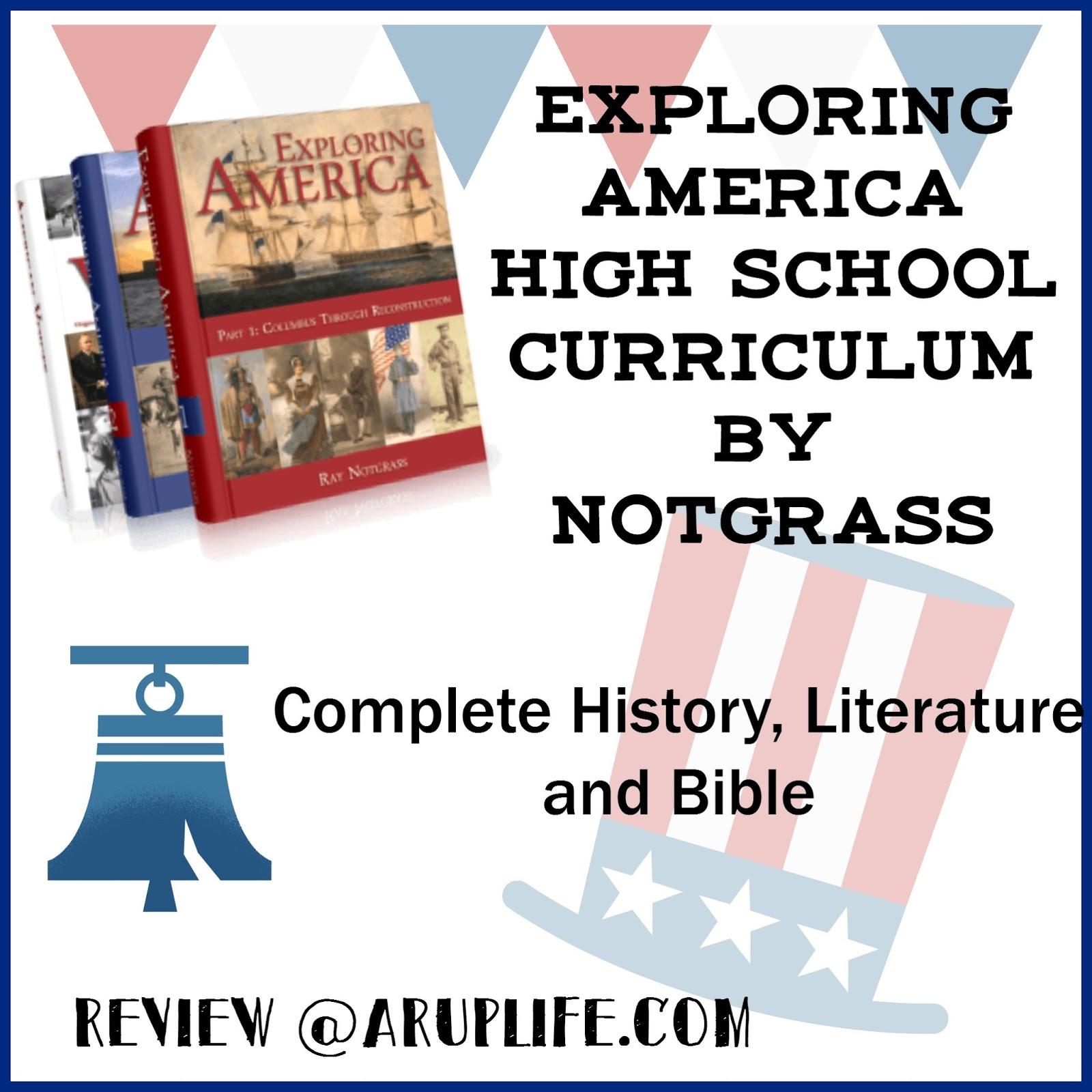 High School Curriculum History