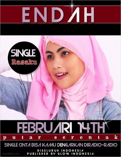 Poster Endah, penyanyi asal Kota Bandung