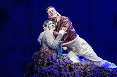 Gavin Higgins: The Monstrous Child - Marta Fontanals-Simmons, Dan Shelvey  - Royal Opera (© ROH | Stephen Cummiskey)