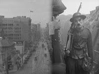 """Кадр из к/ф Чарли Чаплина """"На плечо"""" / Shoulder Arms (1918) - 2"""