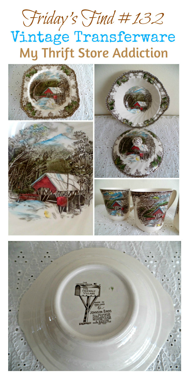 The Top 5 Things to Look for at Yard Sales mythriftstoreaddiction.blogspot.com 4. Vintage Dishes can be found at incredible savings
