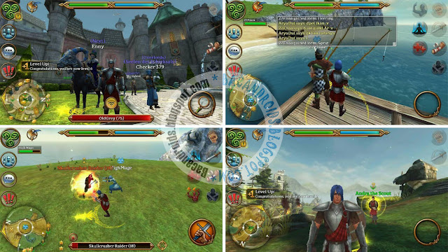Game 3D MMO Celtic Heroes v1.18 Apk Obb Full Data Android Versi Hack Mega Mod