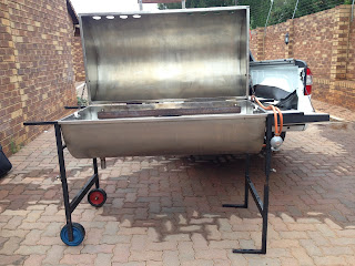 Gas Spit Braai Hire Pretoria