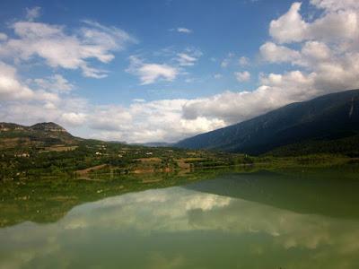 Embalse de Terradets en el Montsec