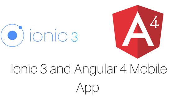 Ionic 3 and Angular 4 Mobile App - TechieUpgrader