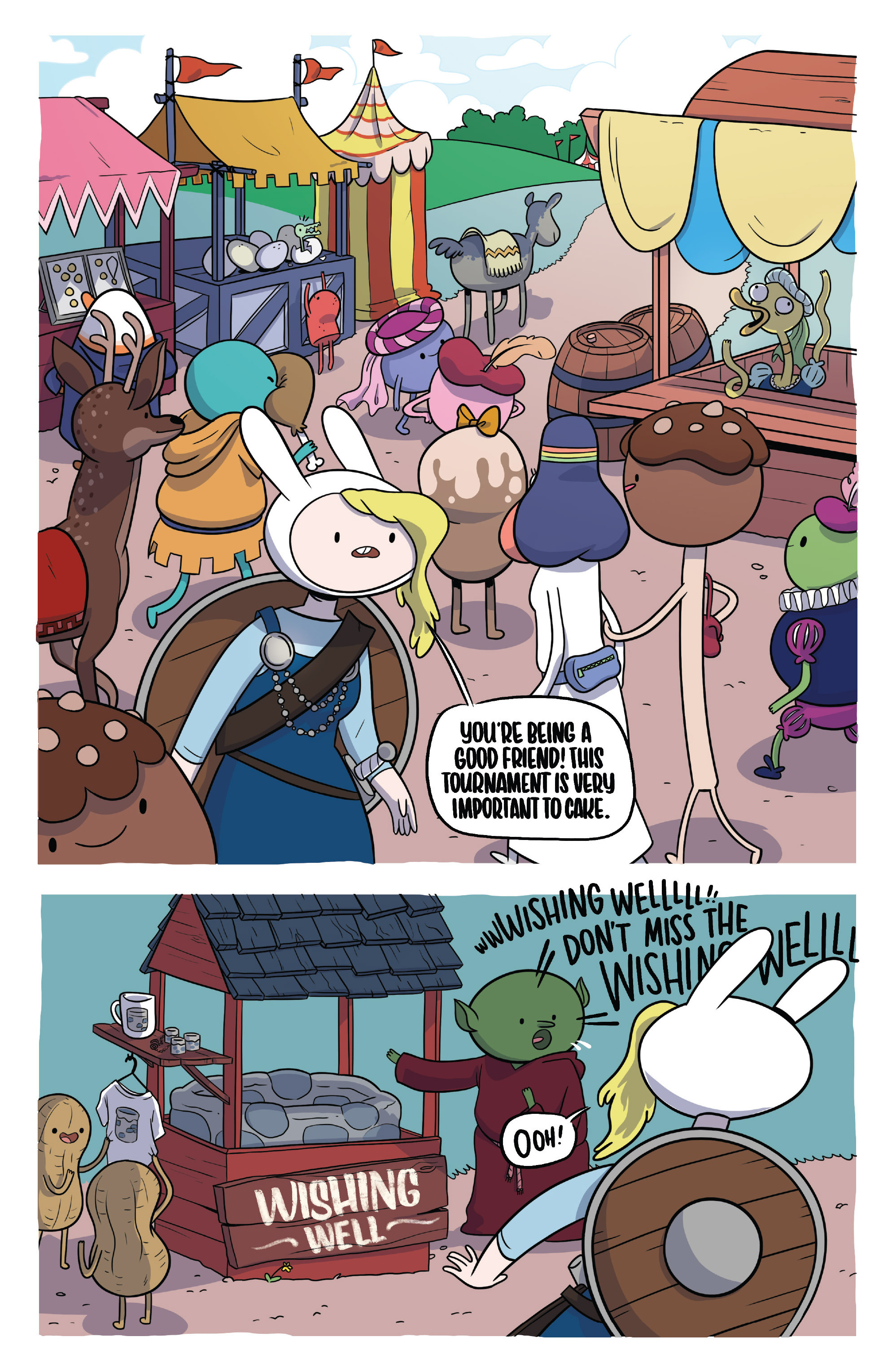 Read online Adventure Time Fionna and Cake Card Wars comic -  Issue #3 - 13