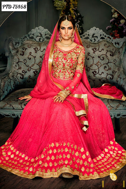 Heavy Wedding Bridal Designer Salwar Suits Online Shopping