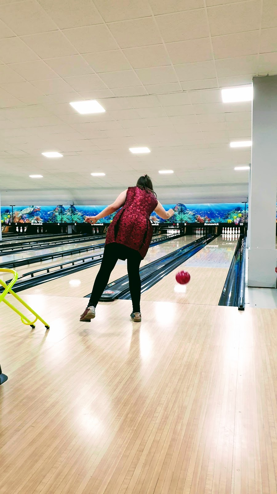 What I really Wore For Bowling: Weekend Link Up