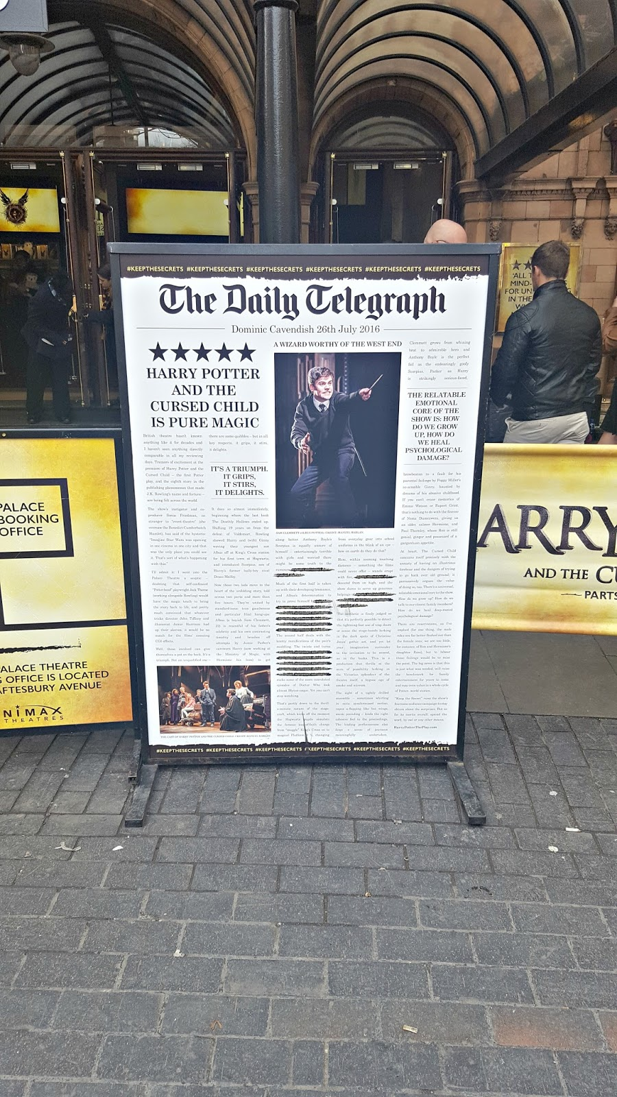 Harry Potter at The Palace Theatre