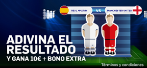 betfair casino Real Madrid vs Manchester United 7 agosto