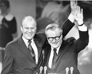Gerald Ford y Nelson Rockefeller