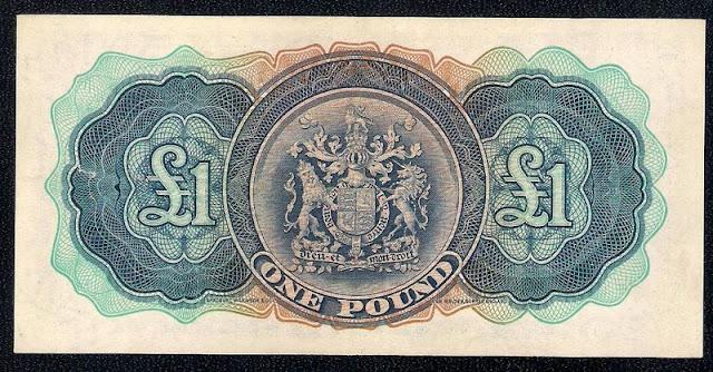Bermuda banknotes pound bill