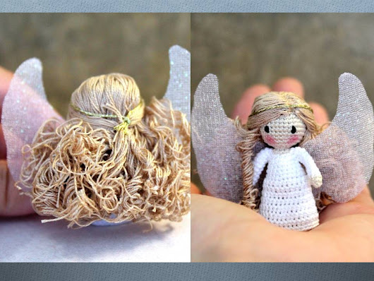 How to Curl Crochet Doll's Hair