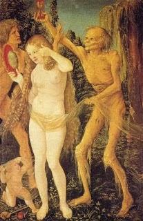 Baldung Grien, trois âges de la vie, 1510