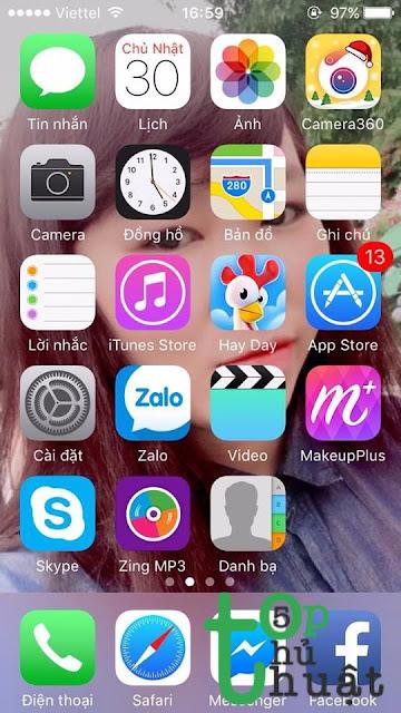 Vào Settings để kích hoạt Find My iPhone