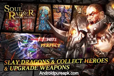 Soul Raider- Ghost On Fire Apk Download Mod Hack+Data
