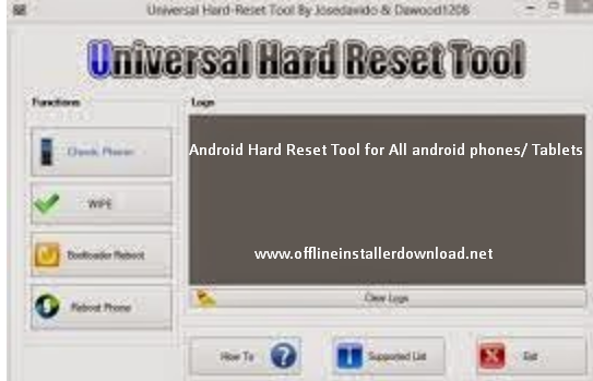 Android hard reset tool free download