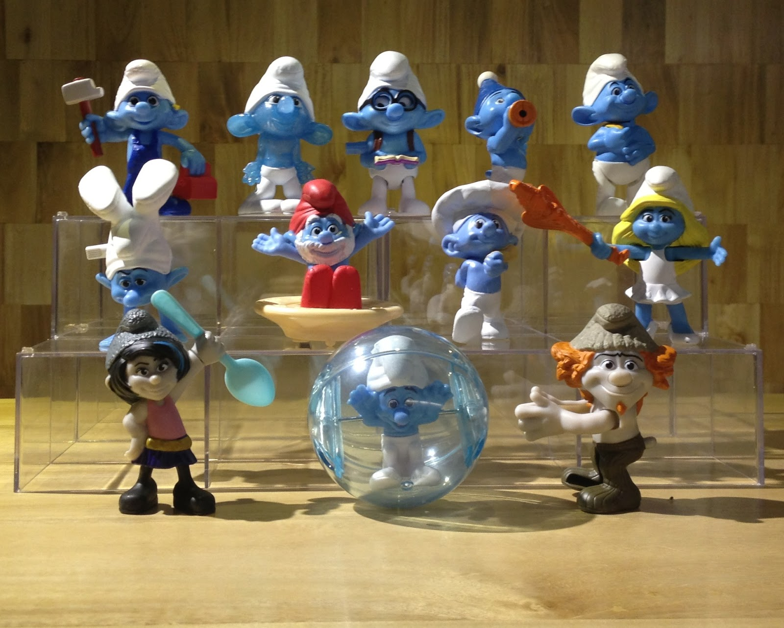 I First Person Singular The Smurfs 2 Mcdonald S Happy Meal