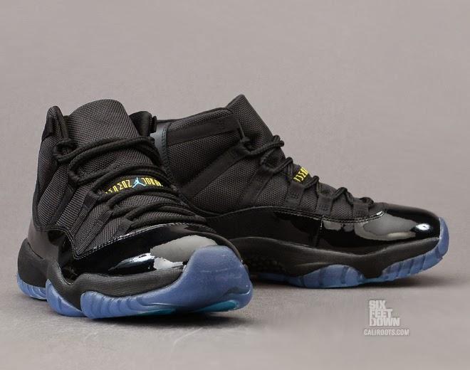 best website e9c7e 152c0 Six Feet Down: Air Jordan 11 Retro Gamma Blue