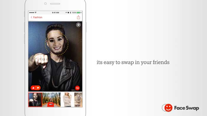 With Microsoft's Face Swap, search with Bing for your next morphing muse