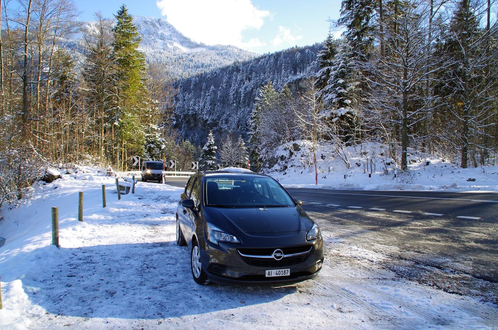 Car Hire Switerland Winter