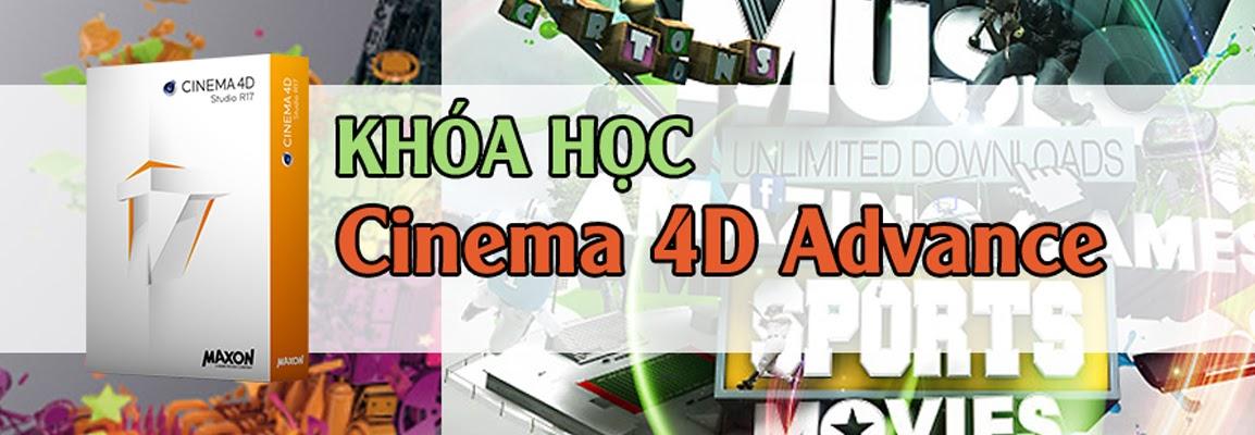 Khóa học Cinema 4D Nâng cao