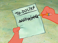 Patrick's To-Do List