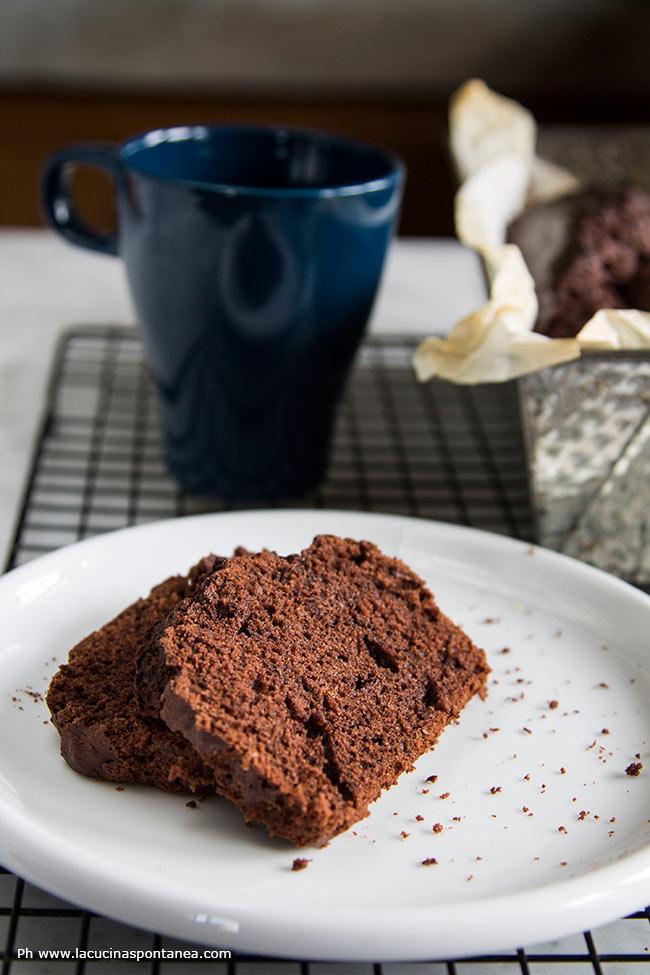 Fette di torta da colazione senza lievito