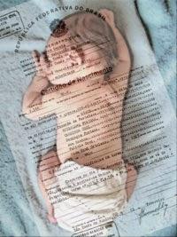 Certidão de Nascimento para bebês