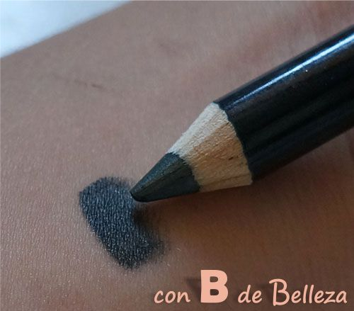 Swatch Steel eyeliner eyeshadow