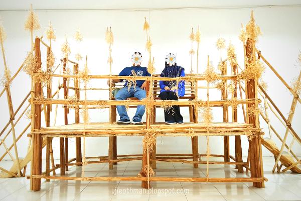 pelamin tradisional murut