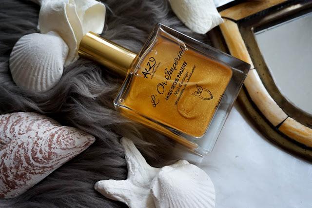 ❤ |#Beauté|: L'huile sèche l'Or Imperiale d'AZZO (concours)