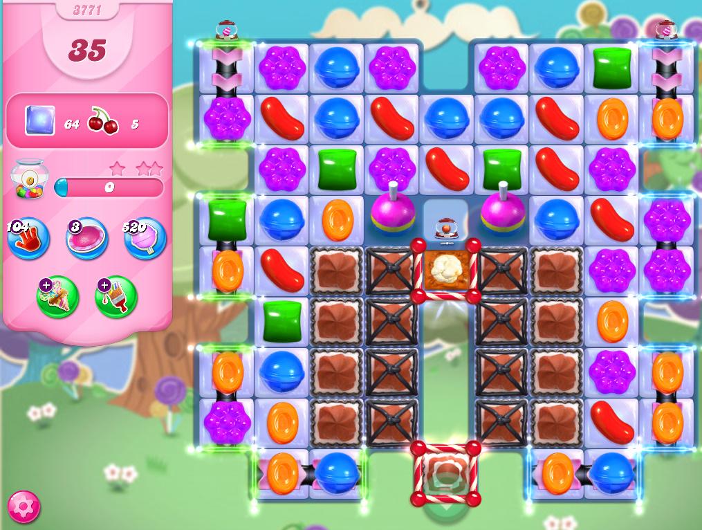 Candy Crush Saga level 3771