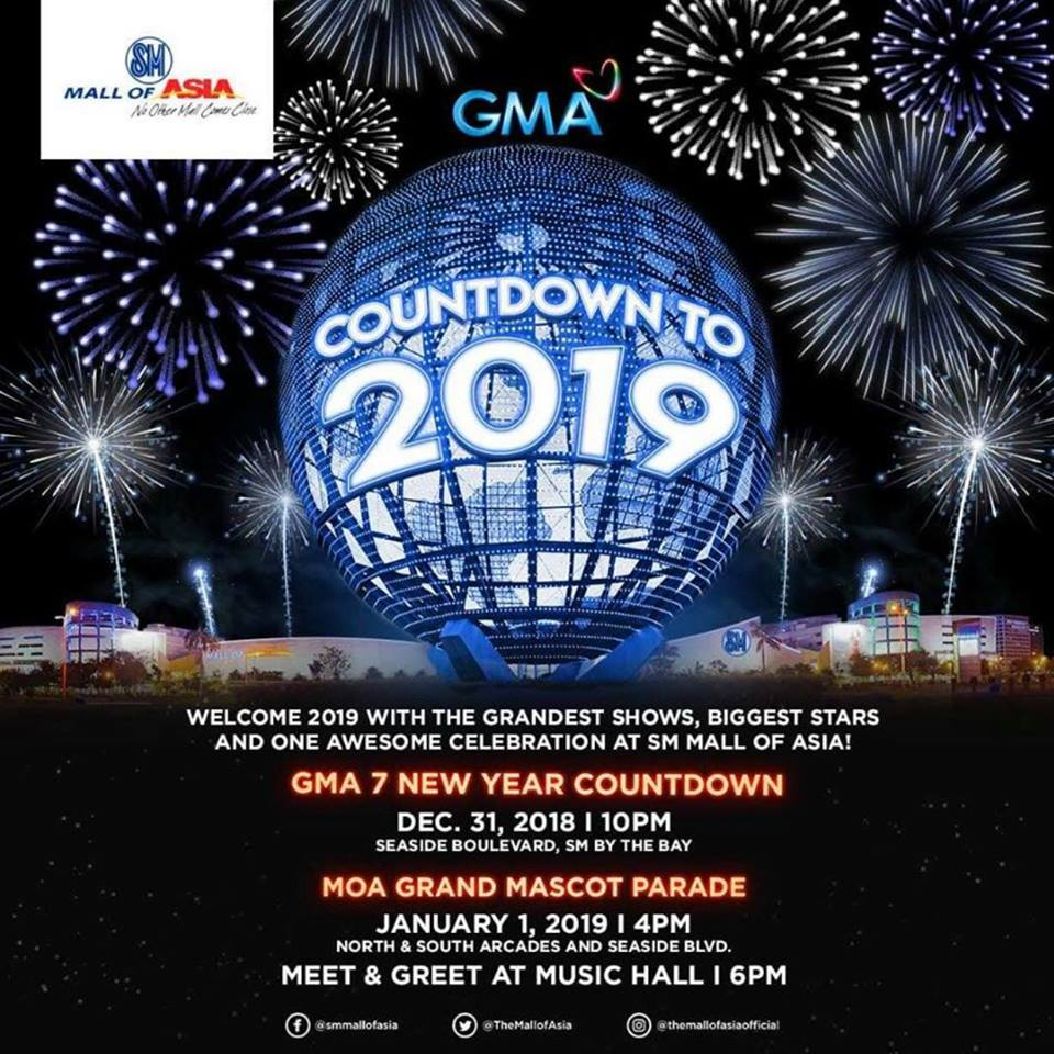 GMA New Year Countdown to 2019