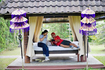 Bercengkrama dengan pasangan sambil menikmati suasana alam nan romantis. uhuyyy (Dok.Pri)