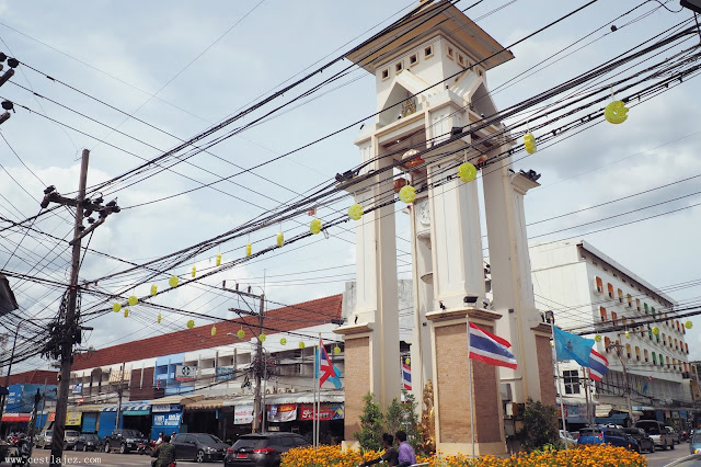 Thailand yala Betong iyerweng Sea Clouds