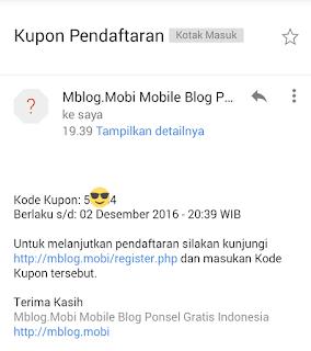 Cara Membuat Blog di Mblog.mobi