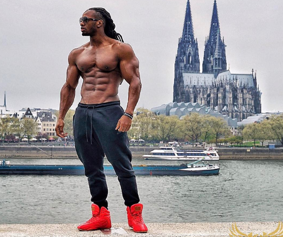 Sunday Morning Hotness: Check out the body on international fitness model,  Ulisses Jr (photos)