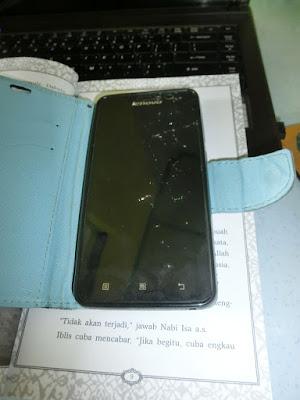 Handphone retak