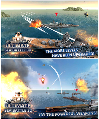 Sea Battle Warships (3D) Mod apk