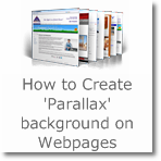 How to Create 'Parallax' background on Webpages