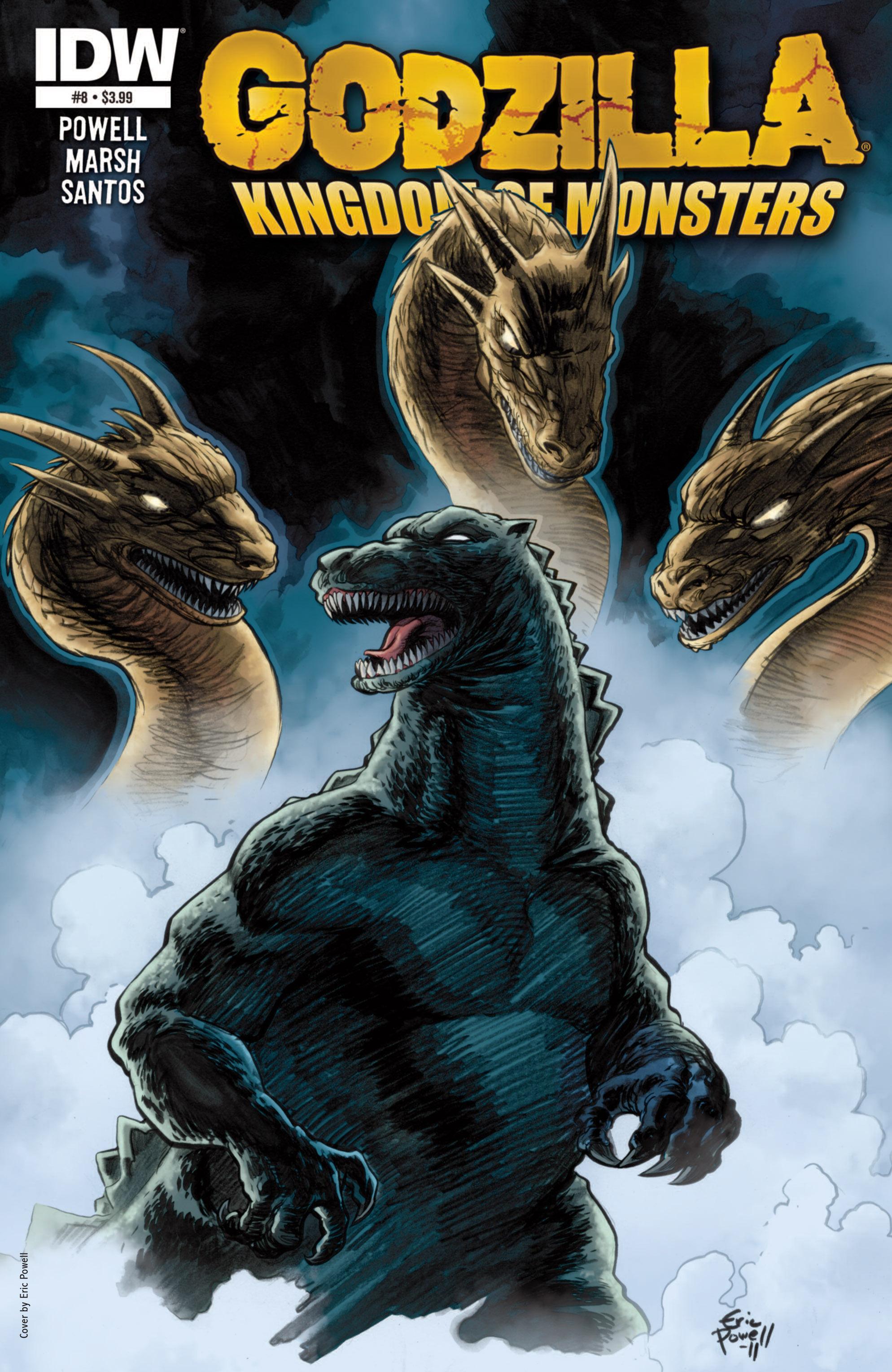 Godzilla: Kingdom of Monsters 8 Page 1